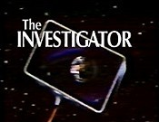 The Investigator Cartoon Picture