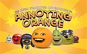 Follow The Bouncing Orange Cartoon Picture
