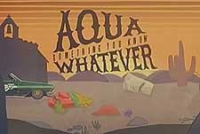 Aqua Something You Know Whatever Episode Guide Logo