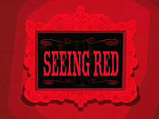 Seeing Red Cartoon Character Picture