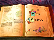 At Your Service Cartoon Picture