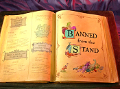 Banned From The Stand Cartoon Picture