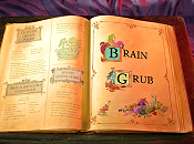 Brain Grub Cartoon Picture