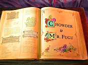 Chowder & Mr. Fugu Picture Of Cartoon