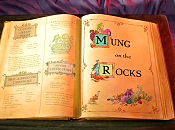Mung On The Rocks Free Cartoon Picture