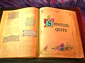 Shnitzel Quits The Cartoon Pictures