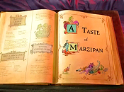 A Taste Of Marzipan Free Cartoon Picture