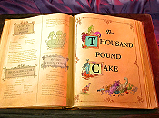 The Thousand Pound Cake Cartoon Picture