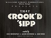 That Crook'd Sipp (Series) Picture Of Cartoon