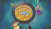 The Great Bicycle Mystery Free Cartoon Picture