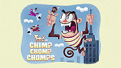 Chimp Chomp Chumps Cartoon Picture