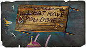 What Have You Done? Cartoon Picture