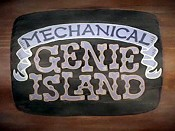 Mechanical Genie Island Cartoon Pictures