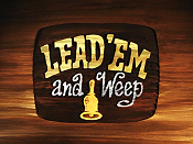 Lead 'Em And Weep Cartoon Funny Pictures