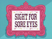 Sight For Sore Eyes Cartoon Character Picture