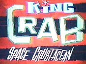 King Crab: Space Crustacean Cartoon Picture