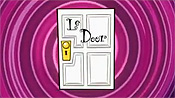 Le Door Free Cartoon Picture