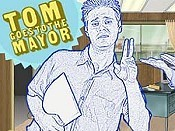 Tom Goes To The Mayor Returns Free Cartoon Picture