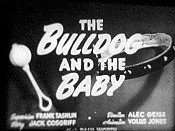 The Bulldog And The Baby Cartoon Picture