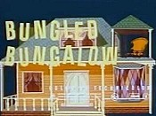 Bungled Bungalow Free Cartoon Picture
