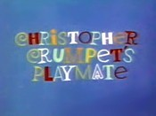 Christopher Crumpet's Playmate Picture Of The Cartoon