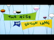 The Rise Of Duton Lang Free Cartoon Picture