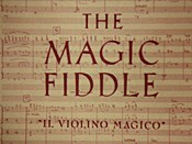 The Magic Fiddle Cartoon Picture