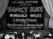 Honolulu Wiles The Cartoon Pictures