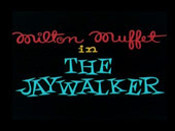 The Jaywalker Cartoon Picture