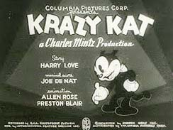 Krazy's Newsreel Picture To Cartoon