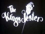 The King's Jester Cartoon Picture