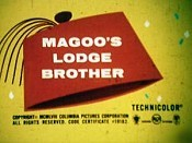 Magoo's Lodge Brother Cartoon Picture