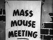Mass Mouse Meeting Cartoon Picture