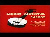 Merry Minstrel Magoo Cartoon Picture