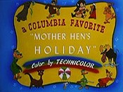 Mother Hen's Holiday Cartoon Picture