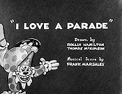 I Love A Parade Cartoon Picture