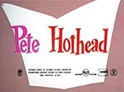Pete Hothead Picture Into Cartoon