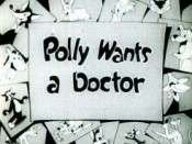 Polly Wants A Doctor Picture To Cartoon