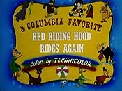 Red Riding Hood Rides Again Cartoon Pictures