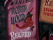 Robin Hoodlum Free Cartoon Picture