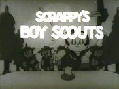Scrappy's Boy Scouts Cartoon Picture