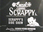 Scrappy's Side Show Picture Of The Cartoon