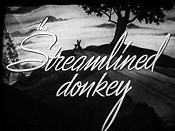 The Streamlined Donkey Cartoon Picture