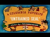 Untrained Seal Cartoon Picture