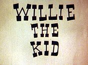 Willie The Kid Free Cartoon Picture