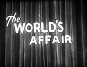The World's Affair Cartoon Picture