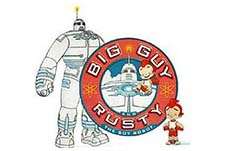 Big Guy and Rusty the Boy Robot Episode Guide Logo