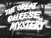 The Great Cheese Mystery Picture To Cartoon