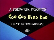 Coo Coo Bird Dog Cartoon Picture