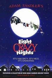 Adam Sandler's Eight Crazy Nights Picture To Cartoon